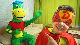 Матвей стал СУПЕРГЕРОЕМ Кто ПРИШЕЛ к нам В ГОСТИ Видео для детей Video For Kids Матвей Котофей