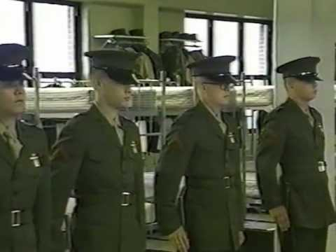 USMC Boot Camp Graduation Video 1st Battalion C Company 9-15-95 Parris Island, SC