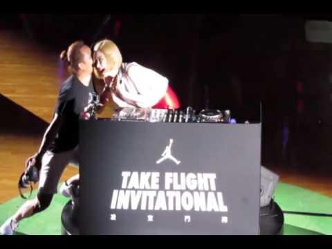 DJ SODA Show On  Jordan Take Flight Invitational Hong Kong