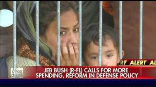 Jeb Bush calls for reforms in defense policy, more spending