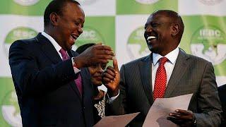Ухуру Кениата снова президент Кении