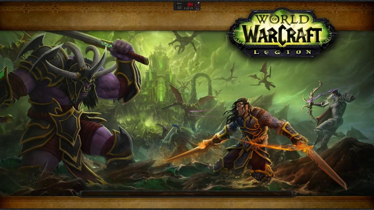 AMD Ryzen 5 2600 & Msi RX 580 8Gb World of Warcraft