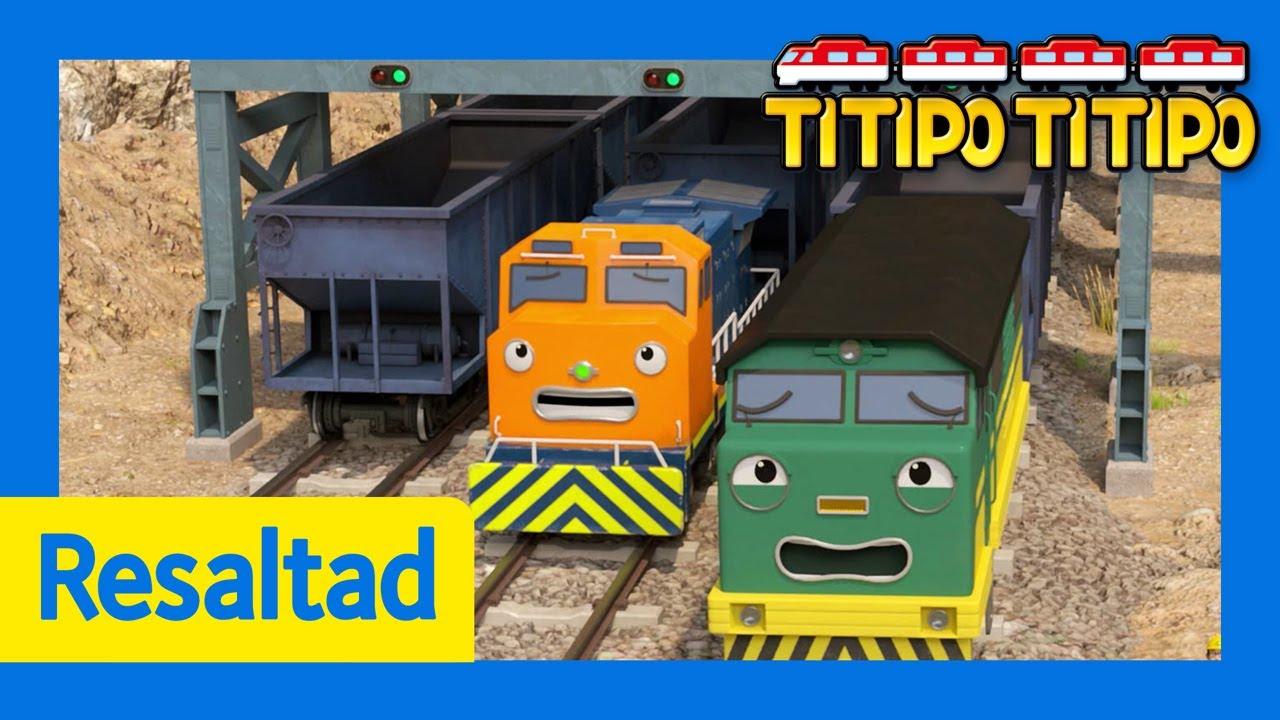 Titipo Español Mejores episodios l ¿Quiénes son los trenes gemelos? l Titipo El pequeño Tren