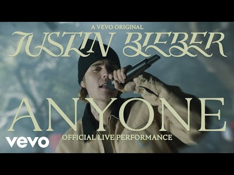 Justin Bieber - Anyone (Official Live Performance) | Vevo