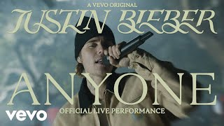 Justin Bieber - Anyone (Official Live Performance)   Vevo