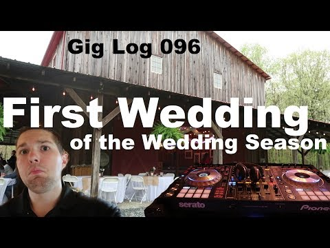 First Wedding of the Season 💍 Simple Mobile DJ Setup | DJ Gig Log 096