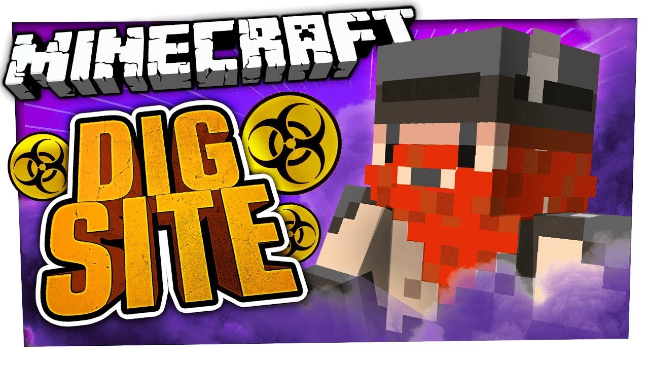 WE'RE POLLUTING!!! | Minecraft Dig Site #2