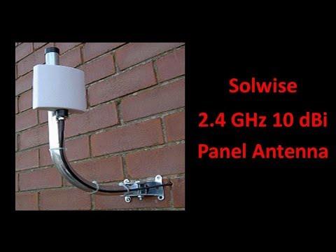 Solwise 2.4GHz 10dBi Panel Antenna