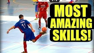 The BEST Street Football/Futsal/Freestyle Skills EVER!! ★ HD thumbnail
