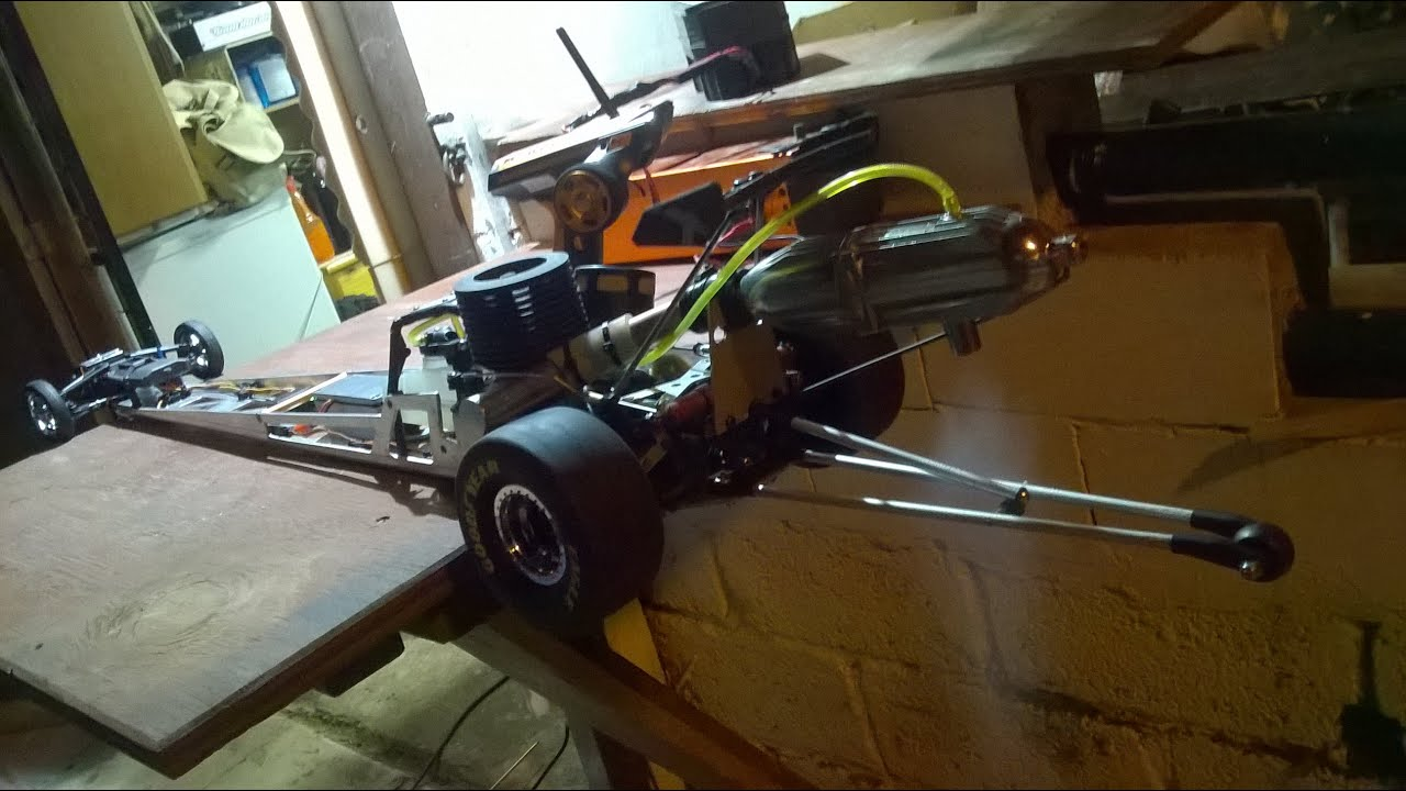 NEW RC Project Nitro Dragster Drag Top fuel Alexandroupolis - YouTube
