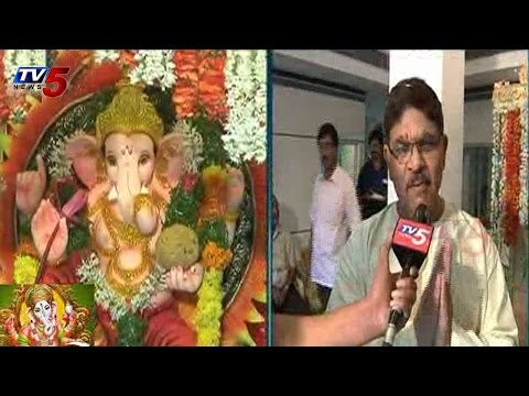 Geetha Arts Ganesh Chaturthi Celebrations : TV5 News