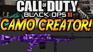 "Black Ops 3 - ""camo Creator"" - New Gunsmith System - Build Your Own Guns! (cod Bo3 Camo Creator)"
