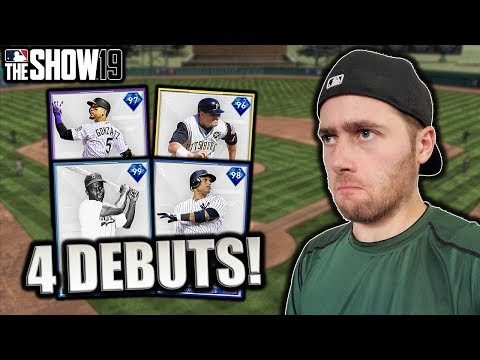 4 SIGNATURE CARDS DEBUT!! MLB THE SHOW 19 DIAMOND DYNASTY