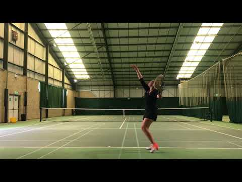 Daisy Stevens Tennis Smart US Recruiting Video Fall 2018