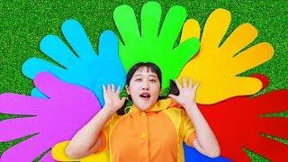 손 색깔놀이 인기 동요 놀이 If you are happy Song + More Nursery Rhymes & Kids Songs - MariAndKids