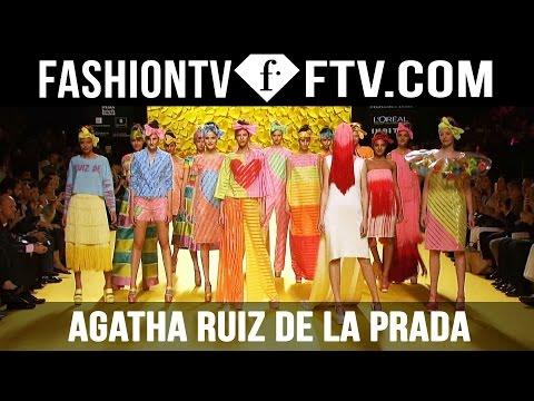 Agatha Ruiz de la Prada Spring 2016 Collection Mercedez Benz Madrid Fashion Week   FTV.com