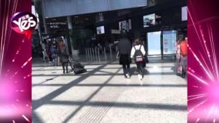 王思聰牽手雪梨現身機場 西雙版納見家長