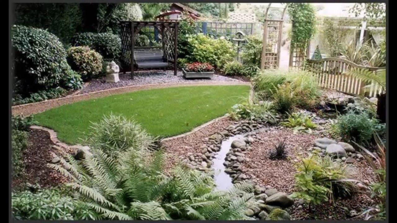 garden ideas] small garden landscape ideas pictures gallery - youtube