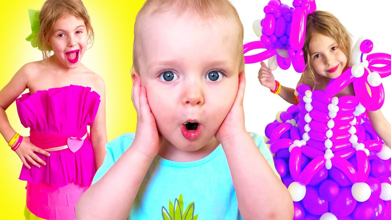 Five Kids Dress Up Song + More Nursery Rhymes & Children's Songs