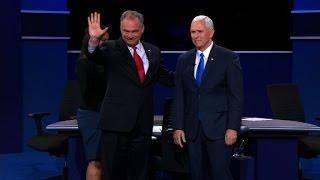 Entire vice presidential debate: Pence vs. Kaine (full de...