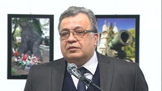 Russian ambassador to Turkey shot and killed