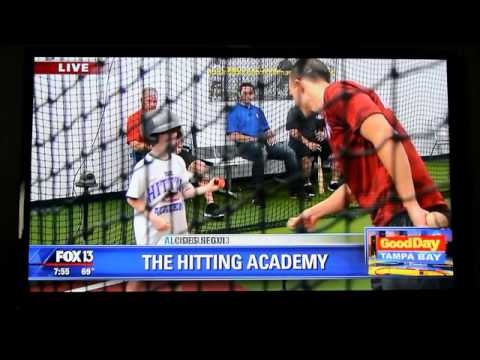 FOX13's Good Morning Tampa Bay with The Hitting Academy - Private Hitting Lessons