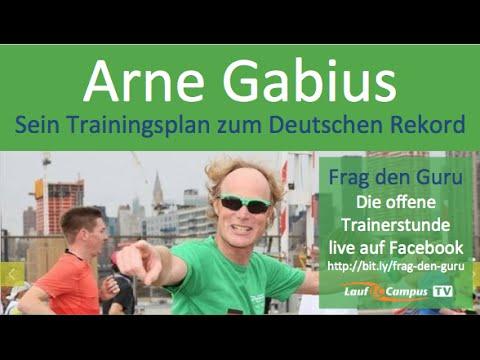 Arne Gabius - Sein Marathon Trainingsplan zum Deutschen Rekord - LaufcampusTV mit Andreas Butz