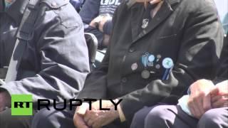Estonia: Waffen-SS Veterans Mark Anniversary Of 'Battle Of Tannenberg Line'