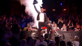Rob Lake: Magician Made Himself Disappear On A Motorcycle