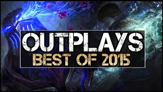 Best Outplays of 2015 (League of Legends Pros)