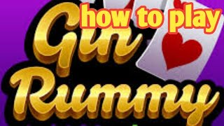 How to play Gin Rummy Plus ( Online Card Game ) | REGZ Vlogs screenshot 3