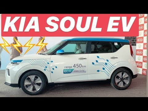 Kia Soul EV delivered in India - 450 km / charge