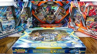 Pokemon Cards Opening: 6 Collection Boxes