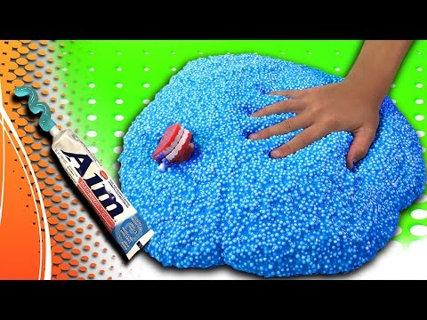 floam-slime-with-toothpaste!-giant-diy-toothpaste-slime-recipe