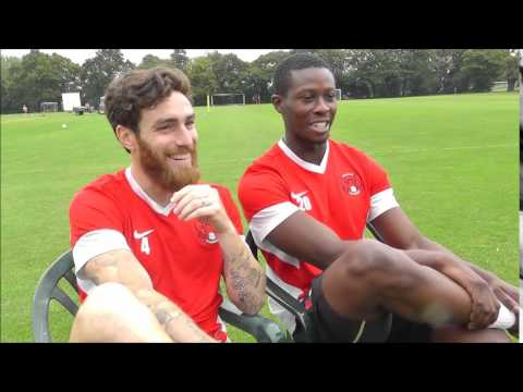 Leyton Orient training ground secrets with Marvin Bartley & Romain Vincelot