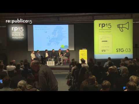 re:publica 2015 - Neues Europa, neue Arbeitswelt – wie, wann und wo passiert das on YouTube
