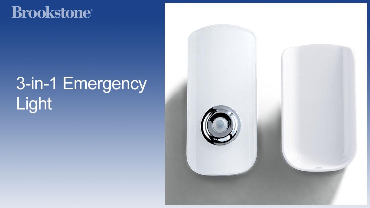 37a8470f240 3-in-1 Emergency Light - YouTube