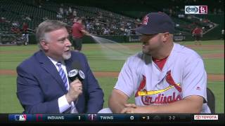Jonathan Broxton on Brandon Moss' gaffe and The Cat's pink suit
