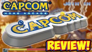NEW Capcom Home Arcade 2 Player Plug & Play UNBOXING & REVIEW!