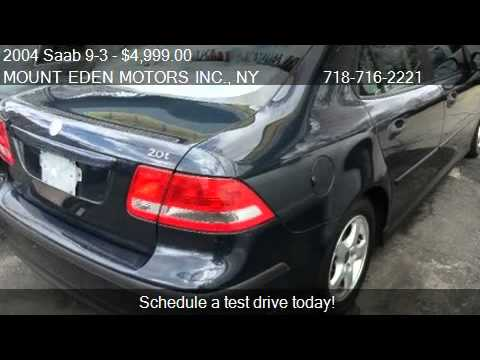 2004 saab 9 3 linear sport sedan for sale in bronx ny