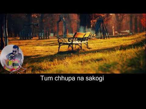Jaanam dekhlo karaoke with Lyrics