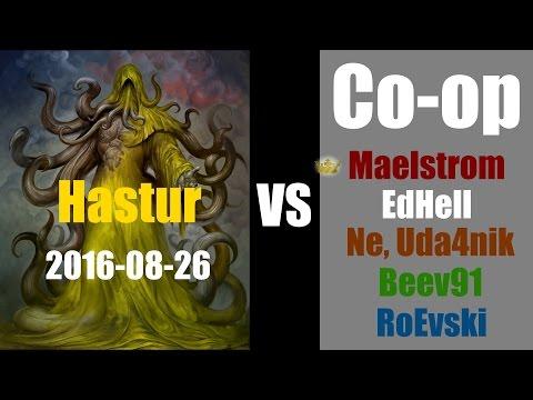 Древний Ужас/Eldritch Horror [Король в жёлтом] 2016-08-26