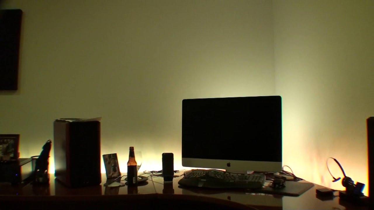 my office lighting philips hue youtube