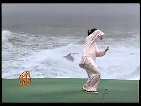 Chen Juan Chen style Tai Chi 56 form Competition routine 1/2