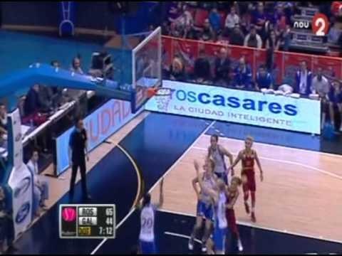 Ros Casares- Galatasaray (Euroliga Femenina) 01 02 12)