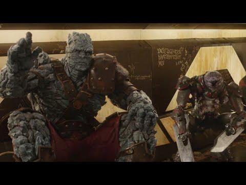 """Thor: Ragnarok (2017) - """"Korg & Miek""""   Movie Clip"""