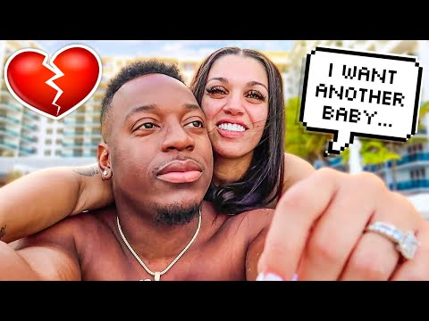 SHE WANTS TO MAKE ANOTHER BABY IN MIAMI 🌴👶🏽 **TRAVEL VLOG**
