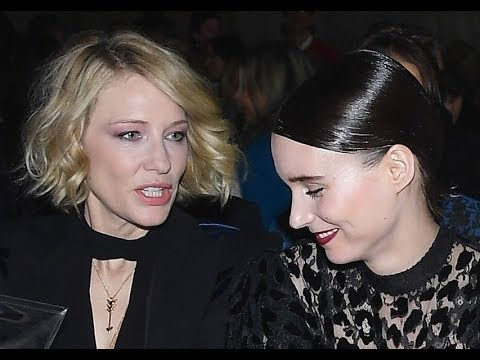 Cate Blanchett and Rooney Mara  Still so good with you in Paris