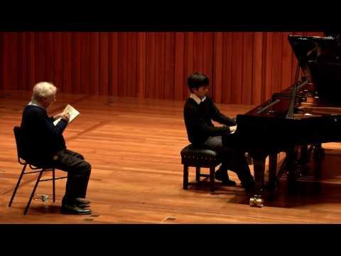 Guildhall Masterclass: Richard Goode Piano Masterclass - Soohong Park