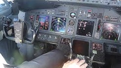 Tunisia AMAZING Flight INSIDE the COCKPIT / Tunisie Djerba Tunis air Vol dans le COCKPIT Boing 737